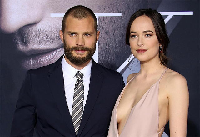 Fifty Shades Darker Premiere Photos, Plus Character Posters