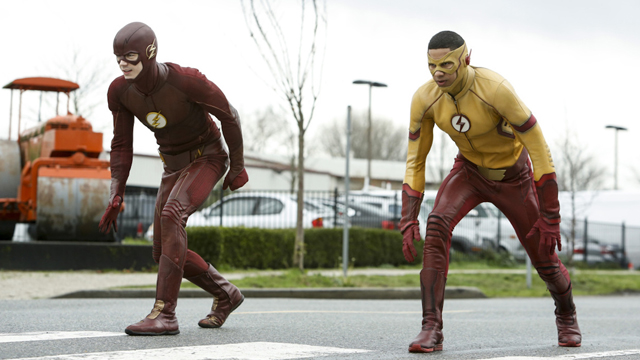 Check out new images from The Flash 3x12, Untouchable!