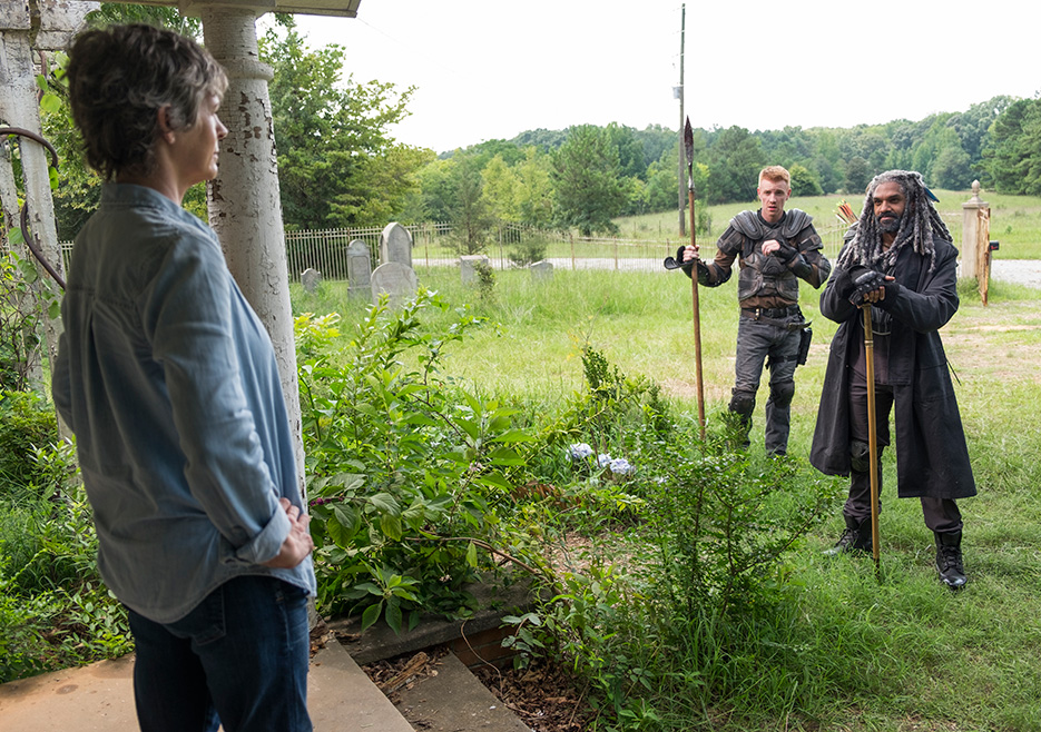 The Walking Dead Episode 710 Recap: New Best Friends