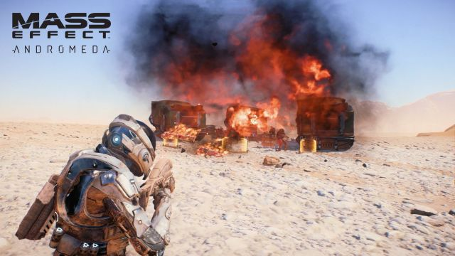 Mass Effect: Andromeda Gameplay Video Focuses on Combat