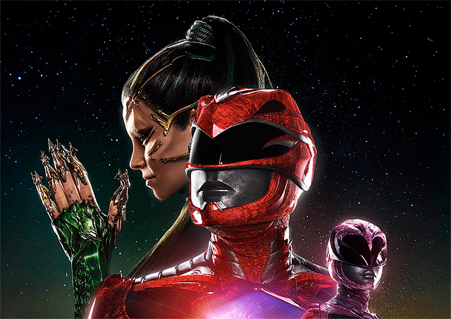 It's About Morphin' Time for a New Power Rangers Poster