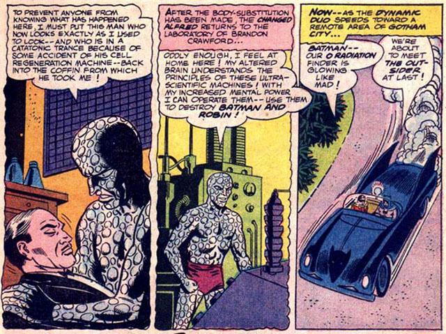 The Outsider Origin is one of the most bizarre Batman stories.
