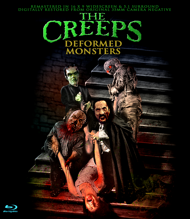 Mini-Monster Mash The Creeps Comes to Blu-ray