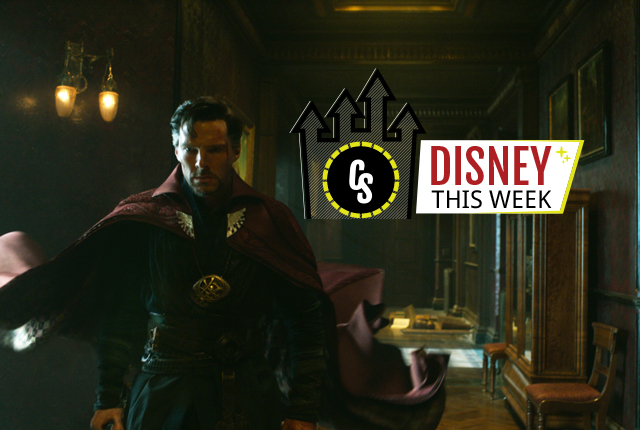 Disney This Week: Scott Derrickson Doctor Strange Interview & More!
