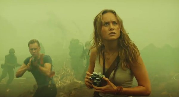 Brie Larson is another key player in the Skull Island cast.