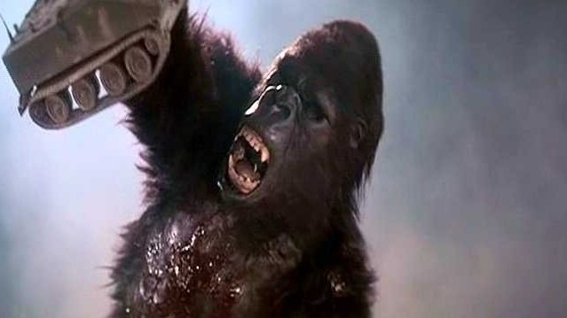 The King Kong movies list continues with King Kong Lives.