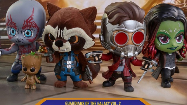 Hot Toys Reveal Guardians of the Galaxy Vol. 2 Cosbaby Figures