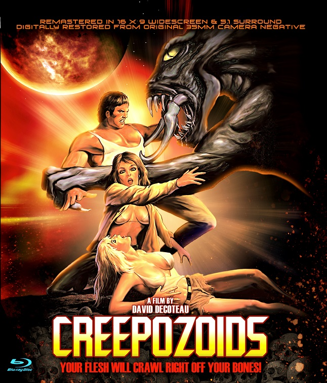 Post apocalyptic '80s Alien clone Creepozoids finally makes it to Blu-ray