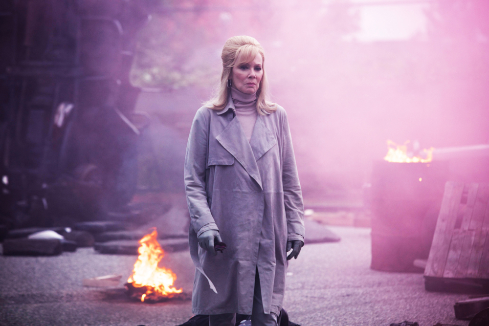 "LEGION -- ""Chapter 5"" – Season 1, Episode 5 (Airs Wednesday, March 8, 10:00 pm/ep) -- Pictured: Jean Smart as Melanie Bird. CR: Michelle Faye/FX"