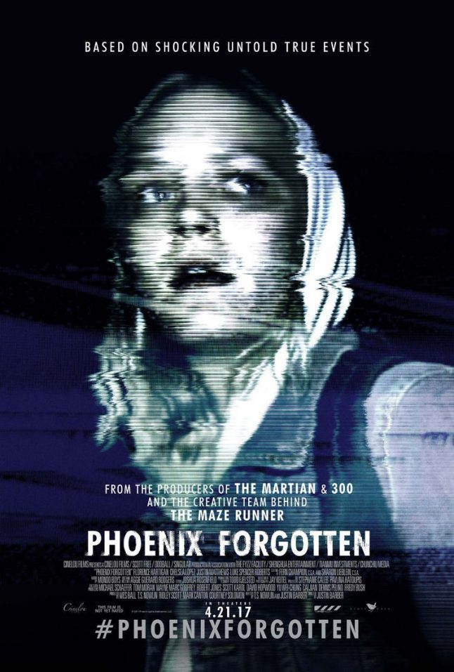 Ridley Scott's Phoenix Forgotten Gets Theatrical Date and Trailer