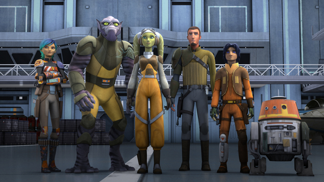 It's official! Star Wars Rebels season 4 is on the way.