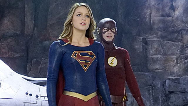 Get a tease of the Supergirl Flash musical. The Supergirl Flash musical arrives soon.