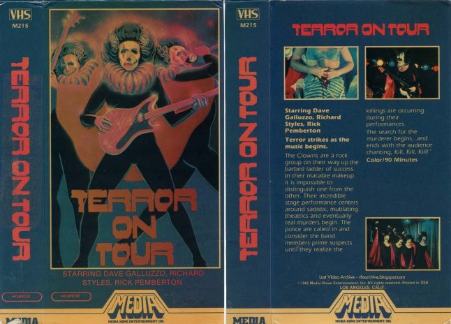 Sex, Blood, Rock 'n' Roll and Soup Nazis in 1980's Terror on Tour