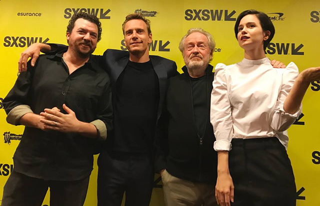 Ridley Scott and the Alien: Covenant Cast, Plus Footage Shown at SXSW!