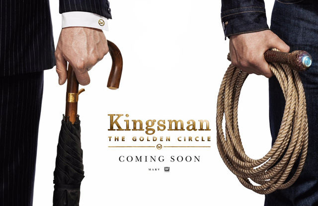 The New Poster for Kingsman: The Golden Circle