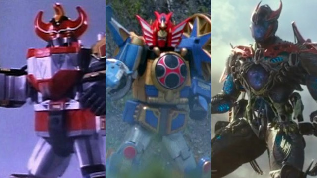 A History of the Power Rangers Zords