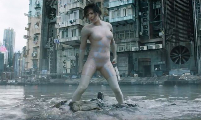The Water Fight from Ghost in the Shell