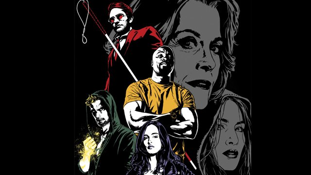 Marvel's The Defenders: new comics-style poster
