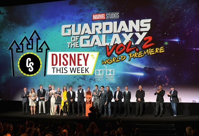 Disney This Week: Guardians Vol. 2 Premiere, Aladdin and More!