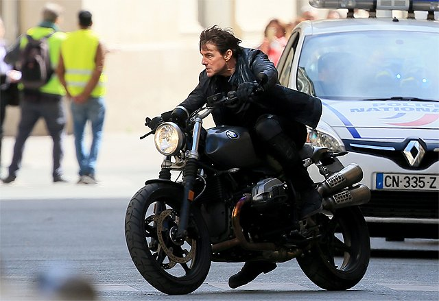 See Tom Cruise Stunts in Mission: Impossible 6 Set Photos