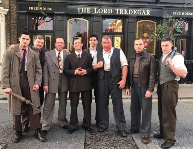 British director's ultra-violent gangster saga Once Upon a Time in London is currently in production