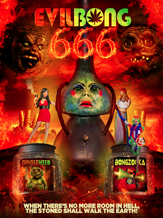Cast and crew of Evil Bong 666 want to hang with you at the official 4/20 premiere screening in LA
