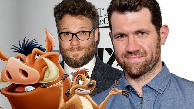 Timon And Pumbaa Cast In Disneys Live Action Lion King
