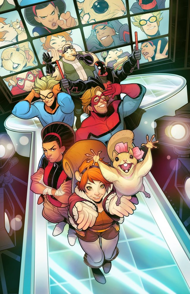 Freeform and Marvel have revealed the six main characters for their upcoming series New Warriors