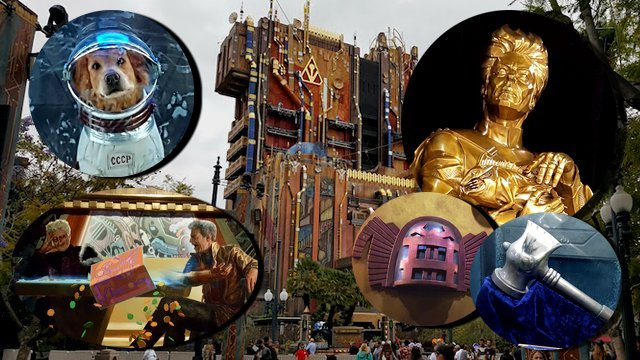 Explore the New Guardians of the Galaxy: Mission Breakout Attraction