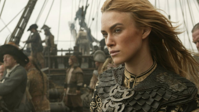 Keira Knightley could be one of the returning Pirates of the Caribbean characters in Dead Men Tell No Tales!