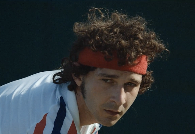Shia LaBeouf is a Tennis Legend in the Borg/McEnroe Teaser