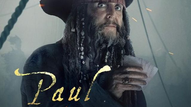 Paul McCartney Gets a Pirates of the Caribbean Character Poster!