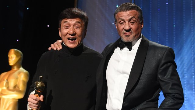 Finally! Jackie Chan and Sylvester Stallone are teaming up