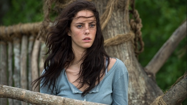 Kaya Scodelario plays one of the new Pirates of the Caribbean characters.