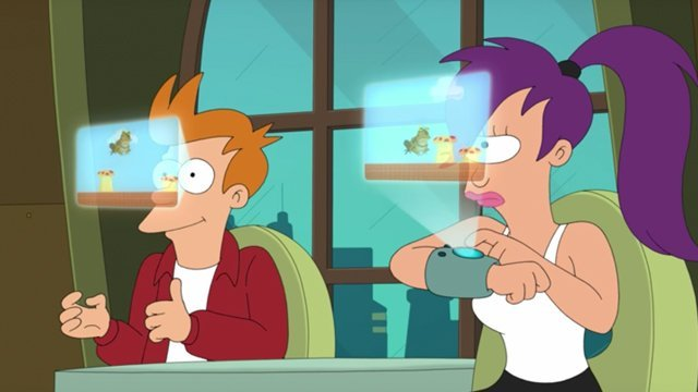 New Futurama animation appears in the mobile game, Worlds of Tomorrow. Who can say no to new Futurama?