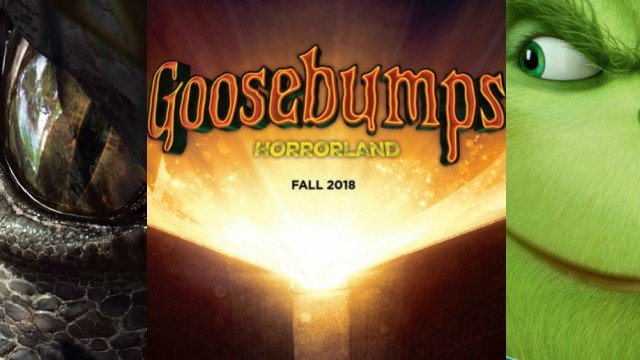 Goosebumps 2 Title Revealed, Plus Promo Art for Jumanji, Grinch and More!