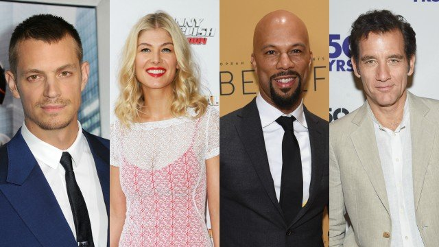 Joel Kinnaman, Rosamund PIke, Common and Clive Owen Join Three Seconds