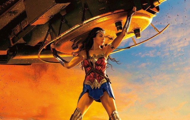A Tank is Coming Your Way in the New Wonder Woman Poster