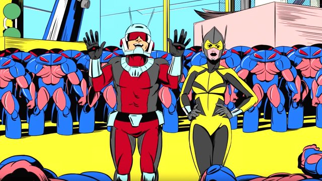 Check out a trio of animated Ant-Man shorts. Future Animated Ant-Man shorts will air on Disney XD.