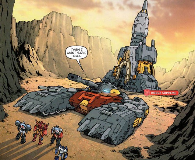 Our Transformers characters list continues with Omega Supreme 2