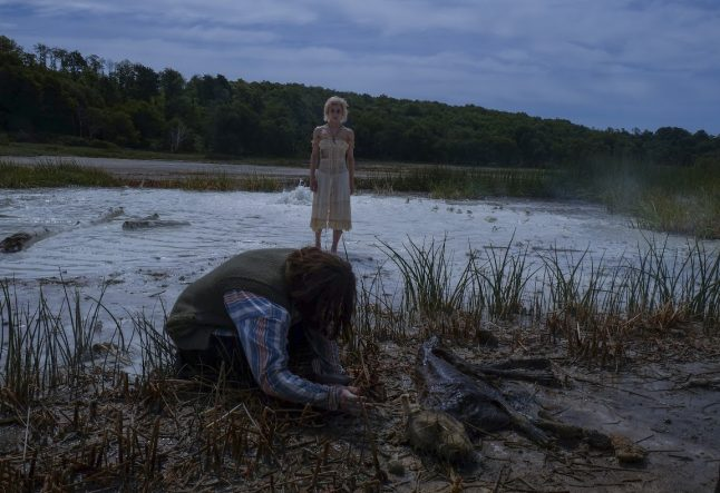 Exclusive On-Set Photos from Italian Horror Movie Parasitic Twin!