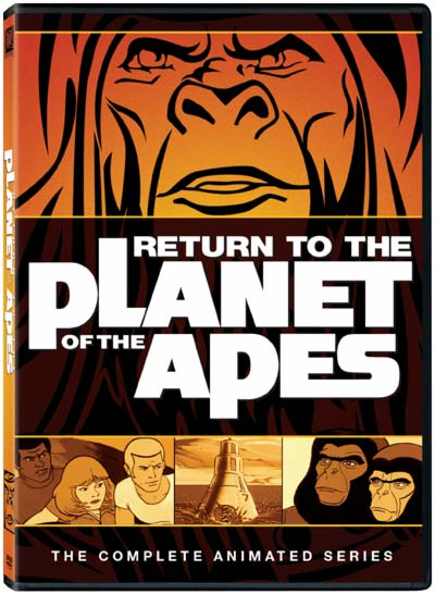 There was even an animated series in the Planet of the Apes franchise.