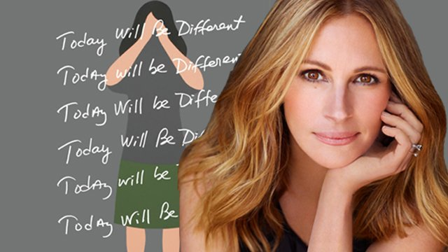 Today Will Be Different is heading to HBO. Julia Roberts will headline Today Will Be Different.