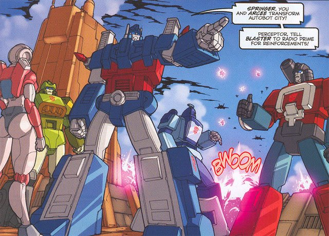 Ultra Magnus 1 is one of our favorite Transformers characters
