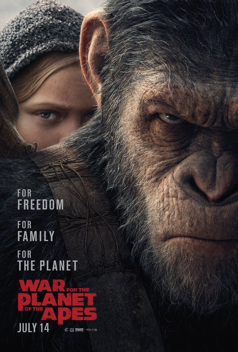 War for the Planet of the Apes is the latest chapter in the Planet of the Apes franchise.