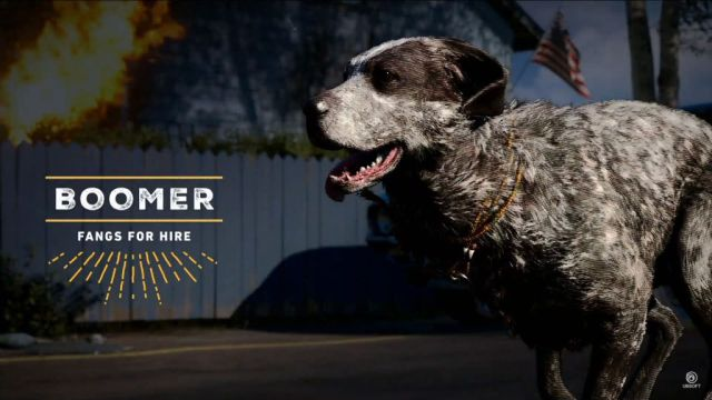 Meet Boomer the Dog, the Gun-Fetching Good Boy of Far Cry 5