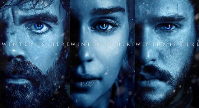 Winter is Here with 12 Game of Thrones Season 7 Posters