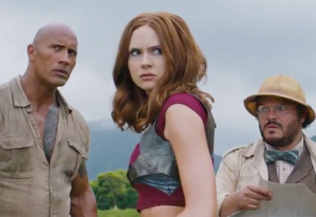 Another Jumanji Trailer Tease Shows Off Exciting Action