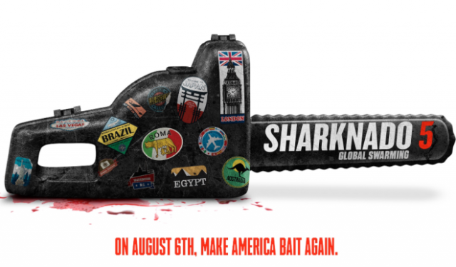 Sharknado 5: Global Swarming reveals cast including Tony Hawk, Clay Aiken and Fabio