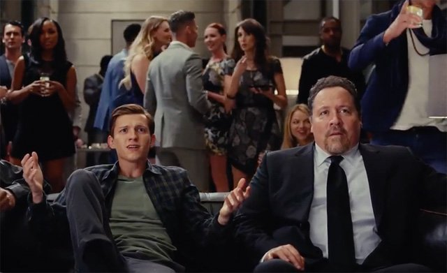 Spider-Man NBA Finals Promos Conclude with Parker at the Stark Party